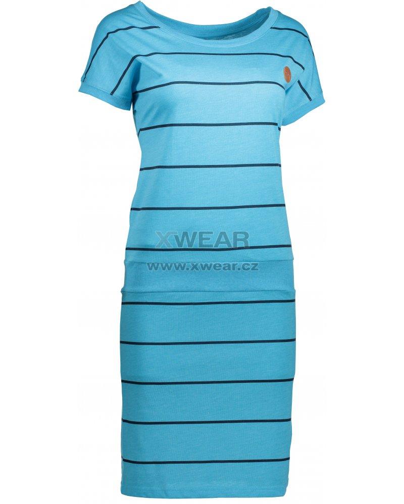 8c4768977cc Dámské šaty SAM 73 WZ 752 NEON MODRÁ velikost  XXL   XWEAR.cz