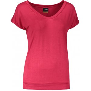 Dámské triko s krátkým rukávem SAM 73 WT 774 ČERVENÁ