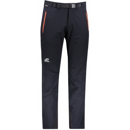 Pánské softshellové kalhoty HANNAH GARWYN ANTHRACITE/ORANGE