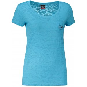 Dámské triko s krátkým rukávem SAM 73 WT 775 NEON MODRÁ