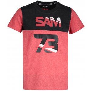 Chlapecké triko s krátkým rukávem SAM 73 BT 525 ČERVENÁ