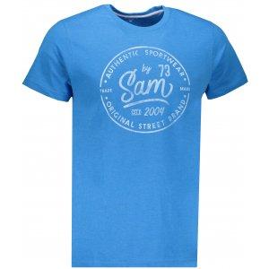 Pánské triko SAM 73 TELLUL MTSN390 MODRÁ