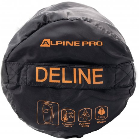 Dětský spací pytel ALPINE PRO DELINE UOTN079 ČERNÁ