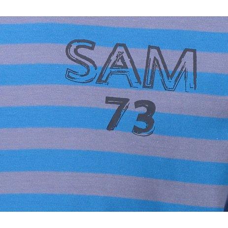 Pánské triko SAM 73 SAMIAR MTSN388 SVĚTLE MODRÁ