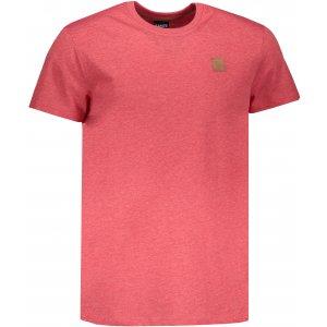 Pánské triko s krátkým rukávem SAM 73 MT 752 ČERVENÁ