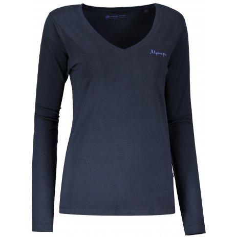 Dámské triko s dlouhým rukávem ALPINE PRO DALILA 3 LTSN342 MODRÁ