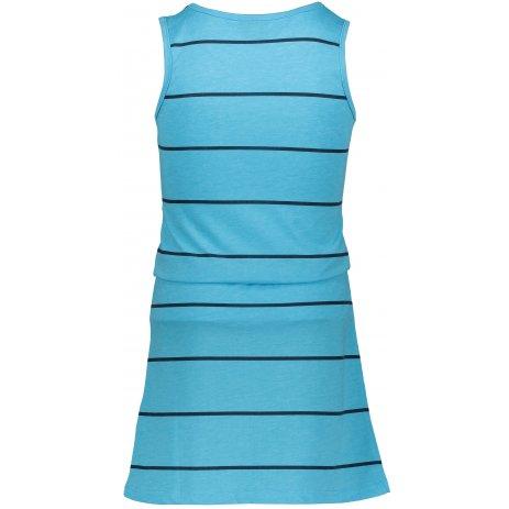 Dívčí šaty SAM 73 GZ 518 NEON MODRÁ