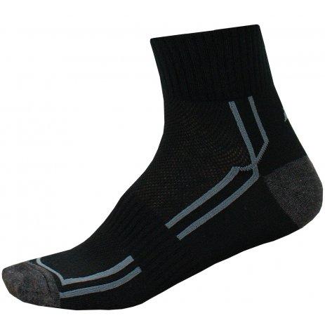 Ponožky ALPINE PRO HARE 3 USCN053 ČERNÁ