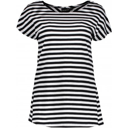 Dámské triko s krátkým rukávem ALPINE PRO SIA LTSN144 ČERNÁ