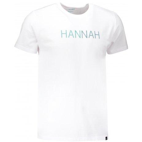 Pánské triko s krátkým rukávem HANNAH JALTON BRIGHT WHITE/PRINT 1