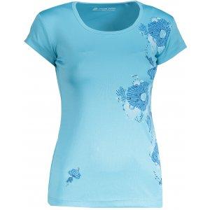Dámské tričko s krátkým rukávem ALPINE PRO QUARTO 4 LTSN417 SVĚTLE MODRÁ
