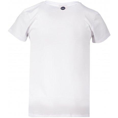 Dívčí triko s krátkým rukávem SAM 73 GT 522 BÍLÁ
