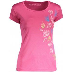 Dámské tričko s krátkým rukávem ALPINE PRO QUARTO 4 LTSN417 RŮŽOVÁ