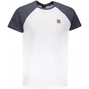 Pánské triko s krátkým rukávem SAM 73 MT 750 BÍLÁ