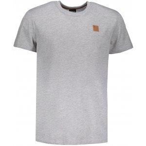 Pánské triko s krátkým rukávem SAM 73 MT 752 SVĚTLE ŠEDÁ