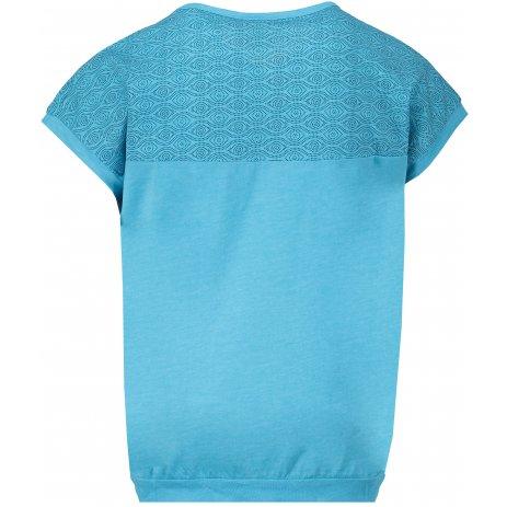 Dívčí triko s krátkým rukávem SAM 73 GT 526 NEON MODRÁ