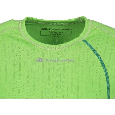 Pánské funkční triko ALPINE PRO UNDER MUNN042 SVĚTLE ZELENÁ