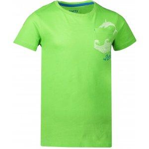 Chlapecké triko SAM 73 CALVINO KTSN177 ZELENÁ