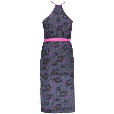 Dámské šaty ALPINE PRO BALERA LSKN153 MODRÁ