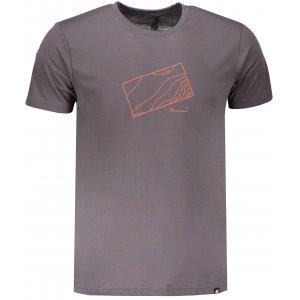 Pánské triko s krátkým rukávem HANNAH BITE PEWTER
