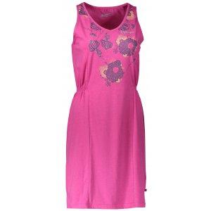 Dámské šaty ALPINE PRO VICA LSKN152 RŮŽOVÁ