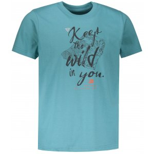 Pánské tričko s krátkým rukávem ALPINE PRO UNEG 6 MTSN354 SVĚTLE MODRÁ