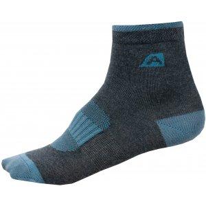 Dětské ponožky ALPINE PRO RAPID 2 KSCN014 ZELENÁ