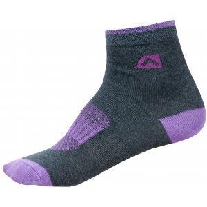 Dětské ponožky ALPINE PRO RAPID 2 KSCN014 FIALOVÁ
