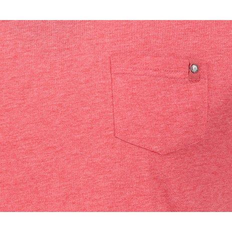 Pánské triko s krátkým rukávem SAM 73 MT 747 ČERVENÁ