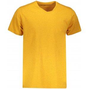 Pánské triko s krátkým rukávem ALPINE PRO SESH MTSN436 ORANŽOVÁ