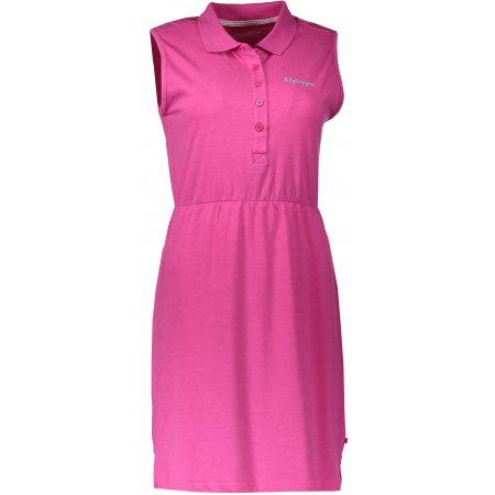 Dámské šaty ALPINE PRO DESANA LSKN154 RŮŽOVÁ
