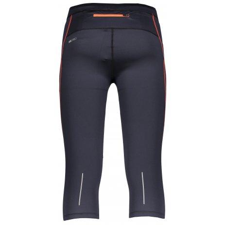 Pánské 3/4 kalhoty HANNAH ROBIN ANTHRACITE/ORANGE