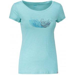 Dámské triko s krátkým rukávem HANNAH SALDIVA AQUA SPLASH