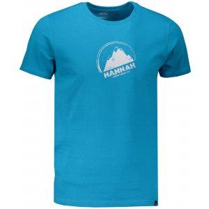 Pánské triko s krátkým rukávem HANNAH BORDON MOSAIC BLUE/PRINT 2