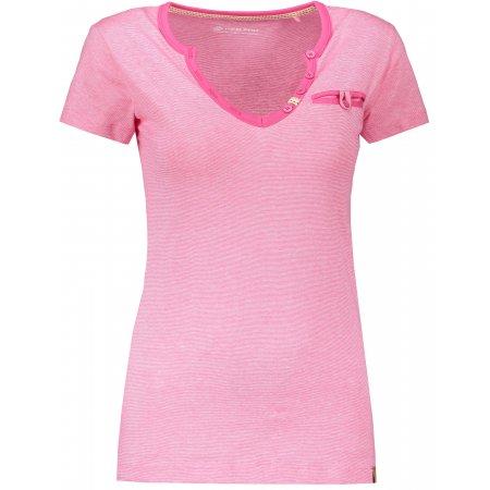 Dámské tričko s krátkým rukávem ALPINE PRO ROPERA 3 LTSN426 RŮŽOVÁ