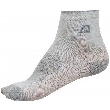 Dětské ponožky ALPINE PRO 3RAPID 2 KSCZ013 BÍLÁ