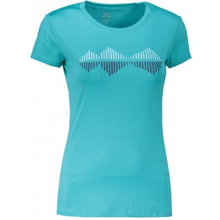 Dámské funkční triko s krátkým rukávem HANNAH SAFFI BLUEBIRD