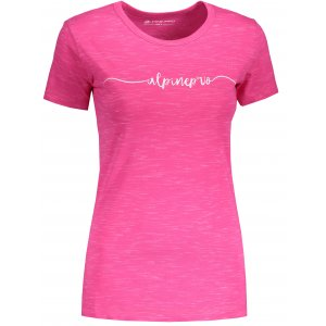 Dámské tričko s krátkým rukávem ALPINE PRO ROZENA 5 LTSN428 RŮŽOVÁ