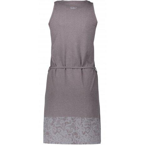 Dámské šaty SAM 73 HILDA LSKN175 TMAVĚ ŠEDÁ
