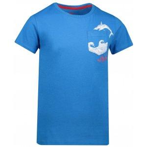 Chlapecké triko SAM 73 CALVINO KTSN177 MODRÁ
