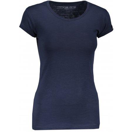 Dámské triko s krátkým rukávem ALPINE PRO ESKA LTSN546 MODRÁ