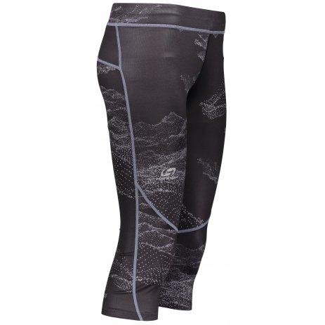 Dámské 3/4 kalhoty HANNAH RELAY ANTHRACITE/SULPHUR