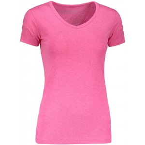 Dámské triko s krátkým rukávem ALPINE PRO AGA LTSN545 SVĚTLE RŮŽOVÁ