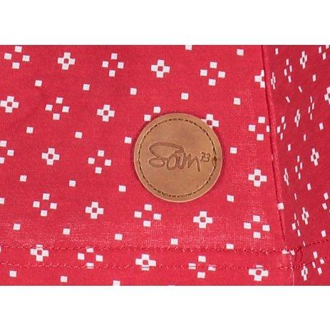 Dívčí šaty SAM 73 GZ 520 ČERVENÁ