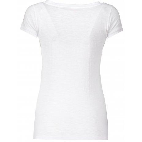Dámské triko s krátkým rukávem HANNAH SALDIVA BRIGHT WHITE