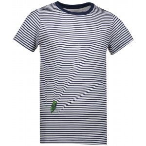 Dětské tričko s krátkým rukávem ALPINE PRO SPORO KTSN166 MODRÁ