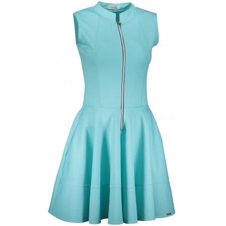 Dámské šaty NUMOCO A123-15 SVĚTLE MODRÁ