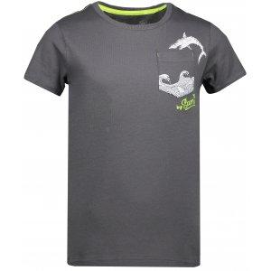 Chlapecké triko SAM 73 CALVINO KTSN177 ŠEDÁ