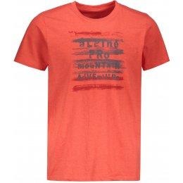 Pánské triko s krátkým rukávem ALPINE PRO DOD MTSN416 ORANŽOVÁ