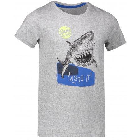 Chlapecké triko SAM 73 CARLISO KTSN179 SVĚTLE ŠEDÁ
